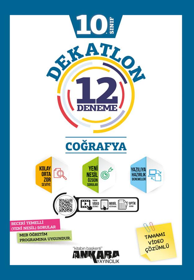 10. Sınıf Coğrafya Dekatlon Denemeleri (12 Adet)