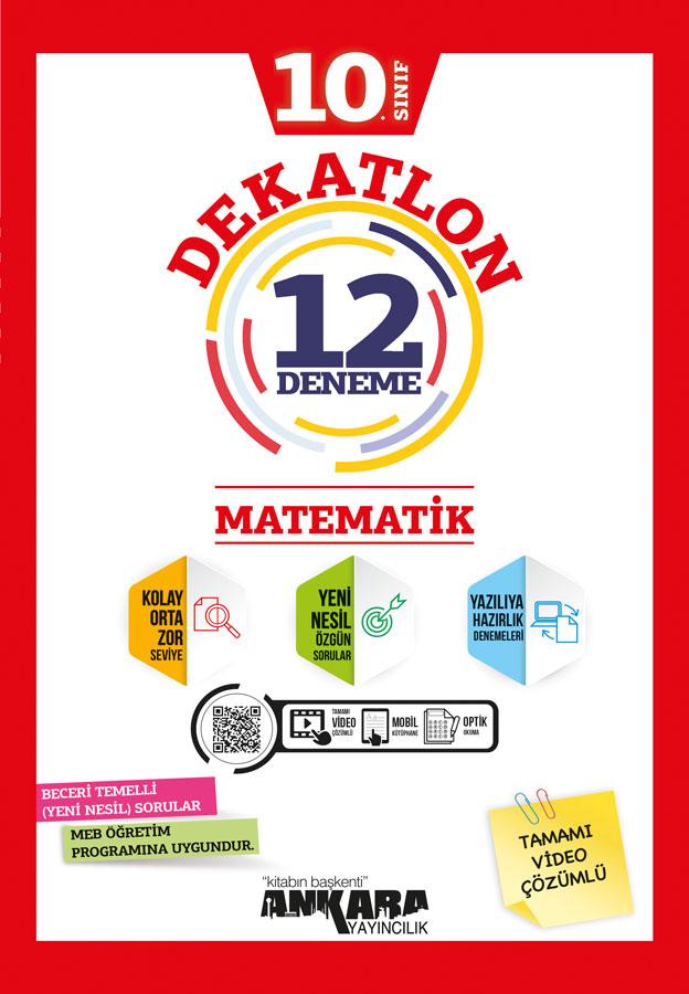 10. Sınıf Matematik Dekatlon Denemeleri (12 Adet)