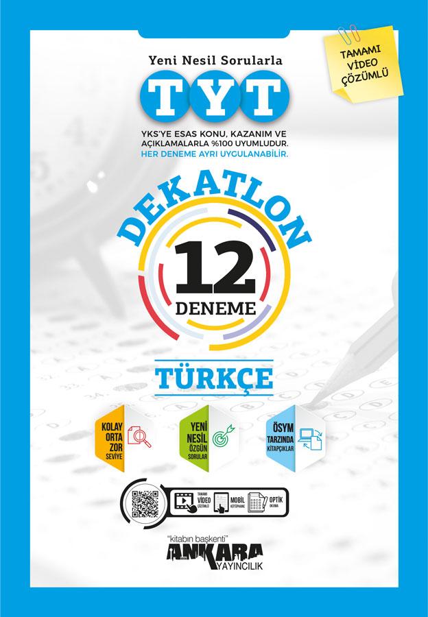 TYT Türkçe Dekatlon Denemeleri (12 Adet)